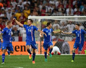 Iceland pulled off a massive soccer upset on Monday