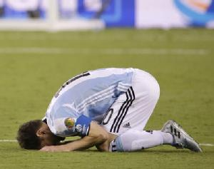 Soccer Shocker: Lionel Messi Says He's Retiring From Argentina's National Team